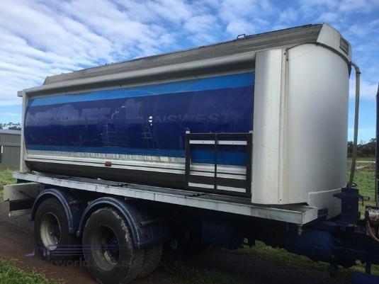 1996 Hockney Aluminium Fuel Tanker Trailer - Trailers for Sale
