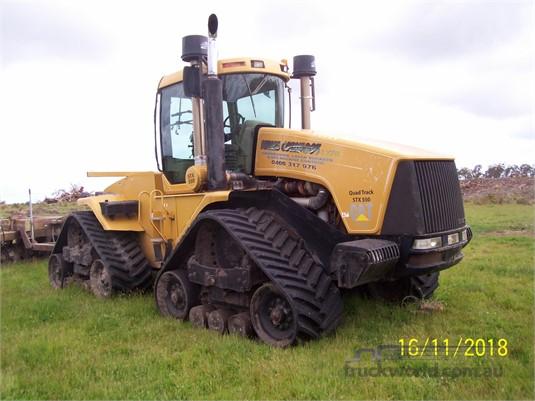 2002 Case Ih Steiger 550 Quadtrac - Farm Machinery for Sale