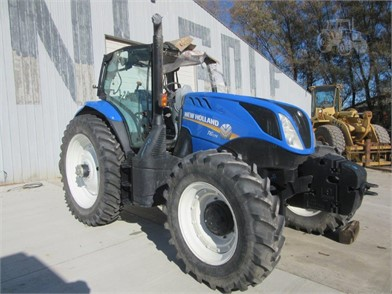 NEW HOLLAND T6 175 Auction Results - 20 Listings