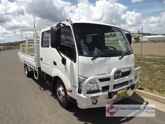 2013 Hino 300 Series 917 Crew Cab Cross Country Trucks Pty Ltd - Trucks for Sale