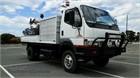 2006 Mitsubishi Canter FG649 4x4 Crane Truck