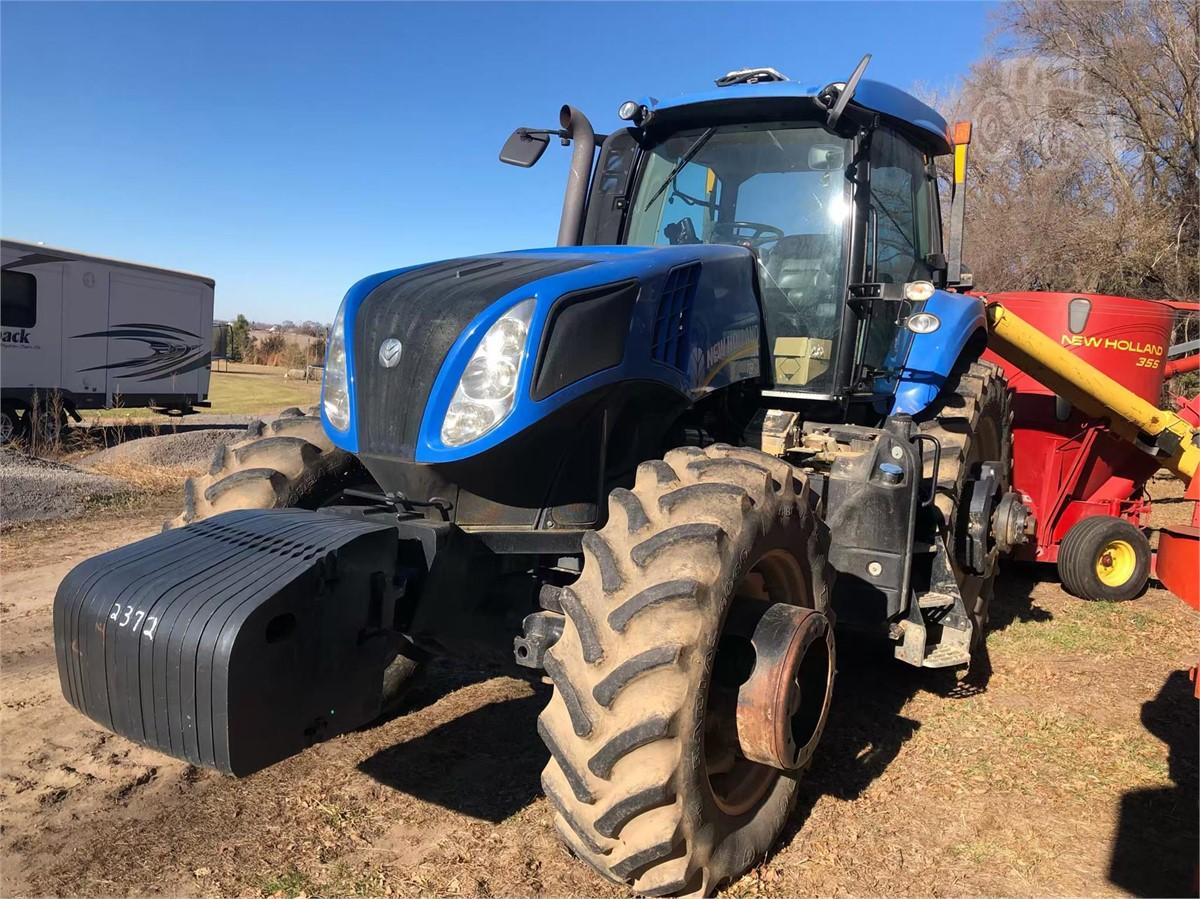 2013 NEW HOLLAND T8 390 For Sale In Norfolk, Nebraska | www