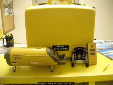 TOPCON TPL4B For Sale In Iowa - 2 Listings | MachineryTrader