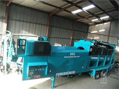 POWERSCREEN Screen Aggregate Equipment For Sale - 351 Listings