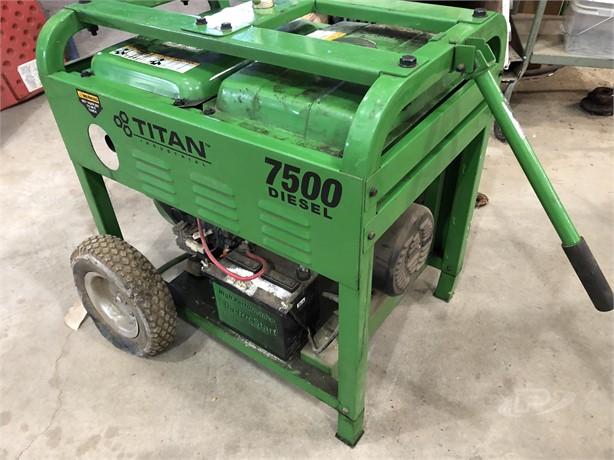 TITAN INDUSTRIAL Generators Auction Results - 9 Listings