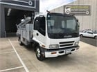 2003 Isuzu FRR 550 Service Vehicle