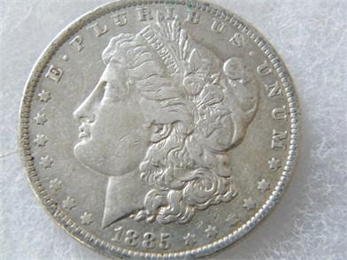 1885-O Morgan Silver Dollar - Persönliches Eigentum ...