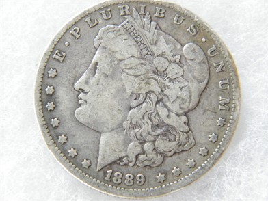 4c5e13739484 1889-O Morgan Silver Dollar - Other Personal Property Personal ...