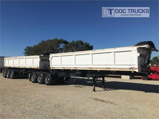 2010 Moore Tipper Trailer DOC Trucks - Trailers for Sale