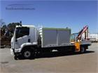 2011 Isuzu FRR 600 Crane Truck