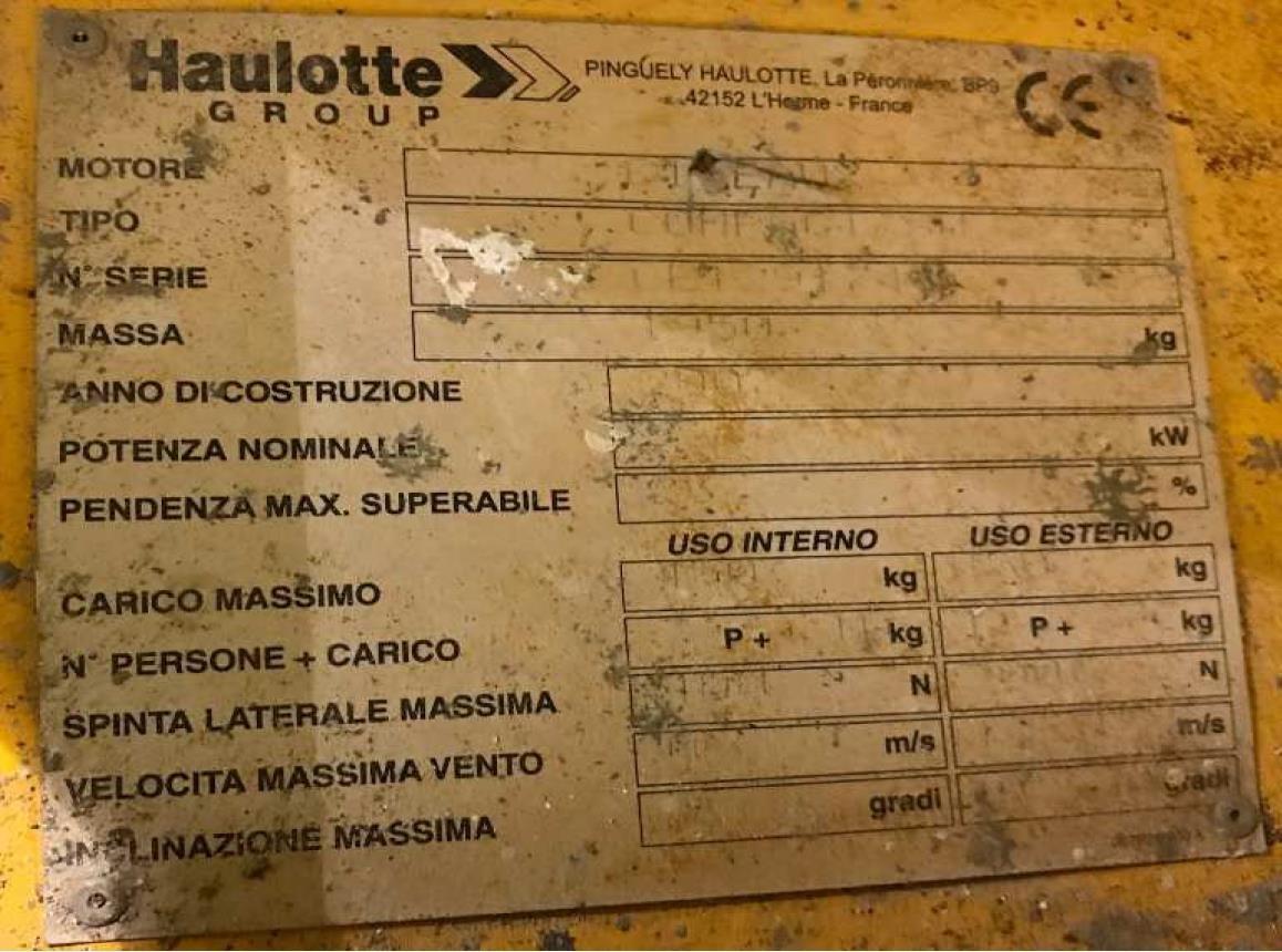 Haulotte COMPACT 8 Usato 2007