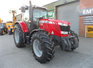 Used MASSEY-FERGUSON 100 HP To 174 HP Tractors for sale in