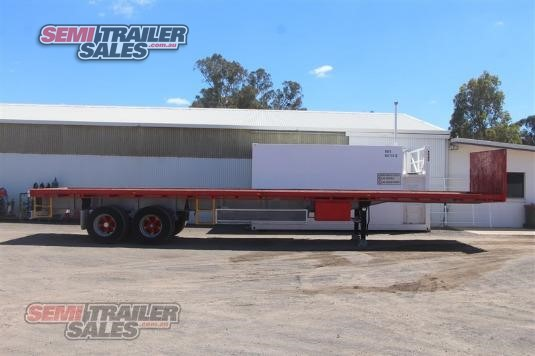 1990 Freighter 41ft Flat Top Trailer Semi Trailer Sales - Trailers for Sale