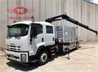 2012 Isuzu FTR 900 Crane Truck
