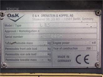 O & K L8.5