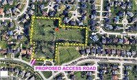 Sold & Closed in 14 days!  5.47 Acres Zoned R-5A