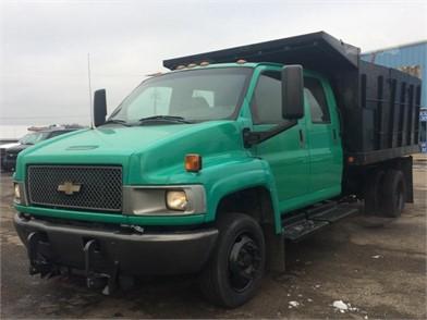 CHEVROLET Kodiak C5500 Dump Trucks For Sale In Ohio - 1