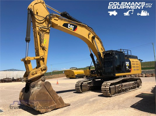 2015 Caterpillar 349E LME Excavators - Tracked heavy machinery for