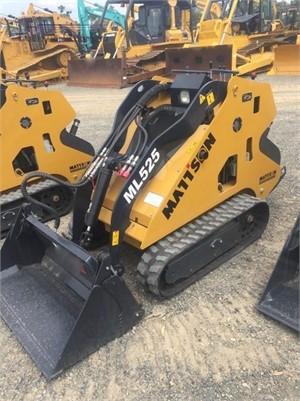 0 Mattson ML525 Heavy Machinery for Sale