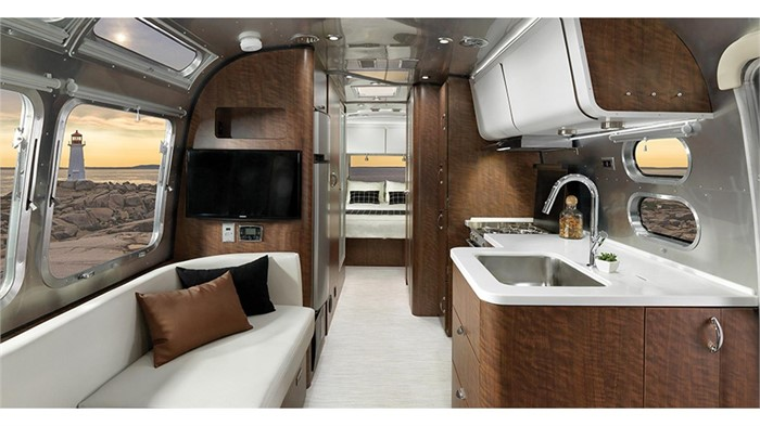 Airstream Gives Its 2019 Globetrotter Some European Flair