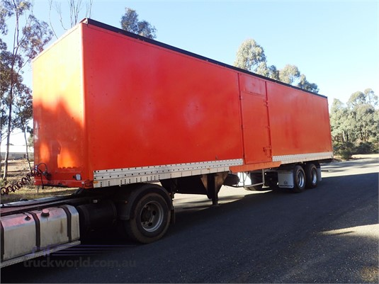 1985 Freighter Pantech Trailer - Trailers for Sale