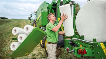 New John Deere C451R & C461R Variable Chamber Wrapping Round