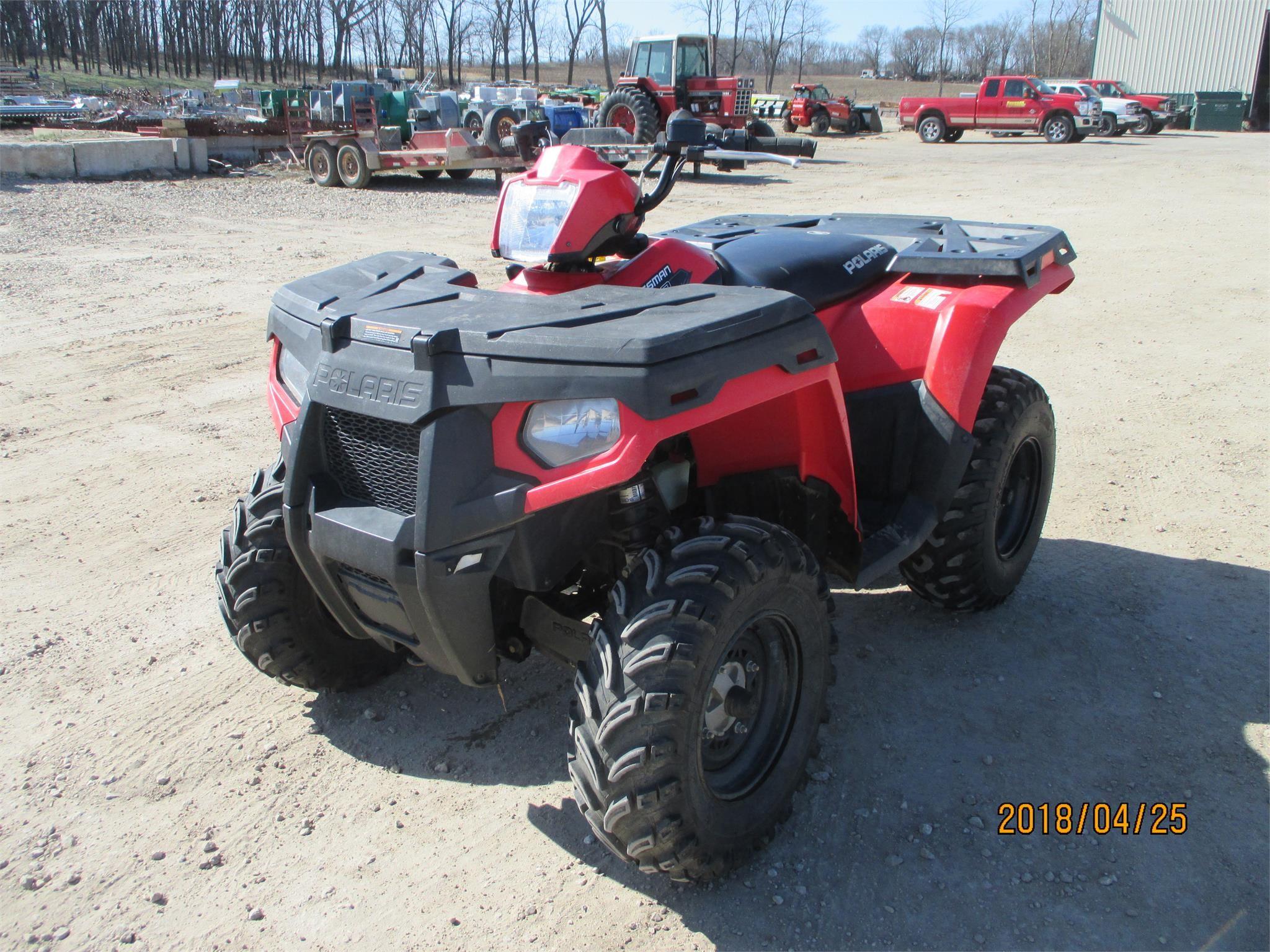 2011 POLARIS SPORTSMAN 500 HO For Sale in Worthington, Iowa