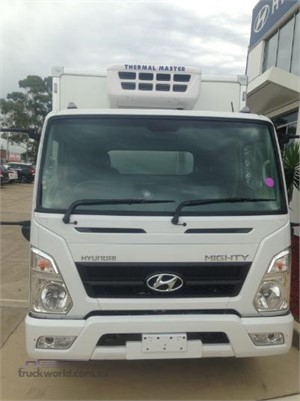 2018 Hyundai Mighty EX4 MWB Factory Chiller - Trucks for Sale