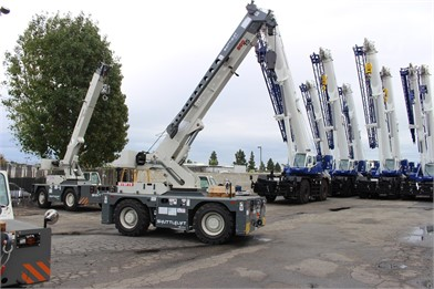 Carry Deck Cranes / Pick And Carry Cranes For Rent - 61