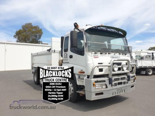 2008 Isuzu Giga CXY 455 Blacklocks Truck Centre - Trucks for Sale
