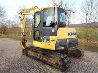 KOMATSU PC80MR-3