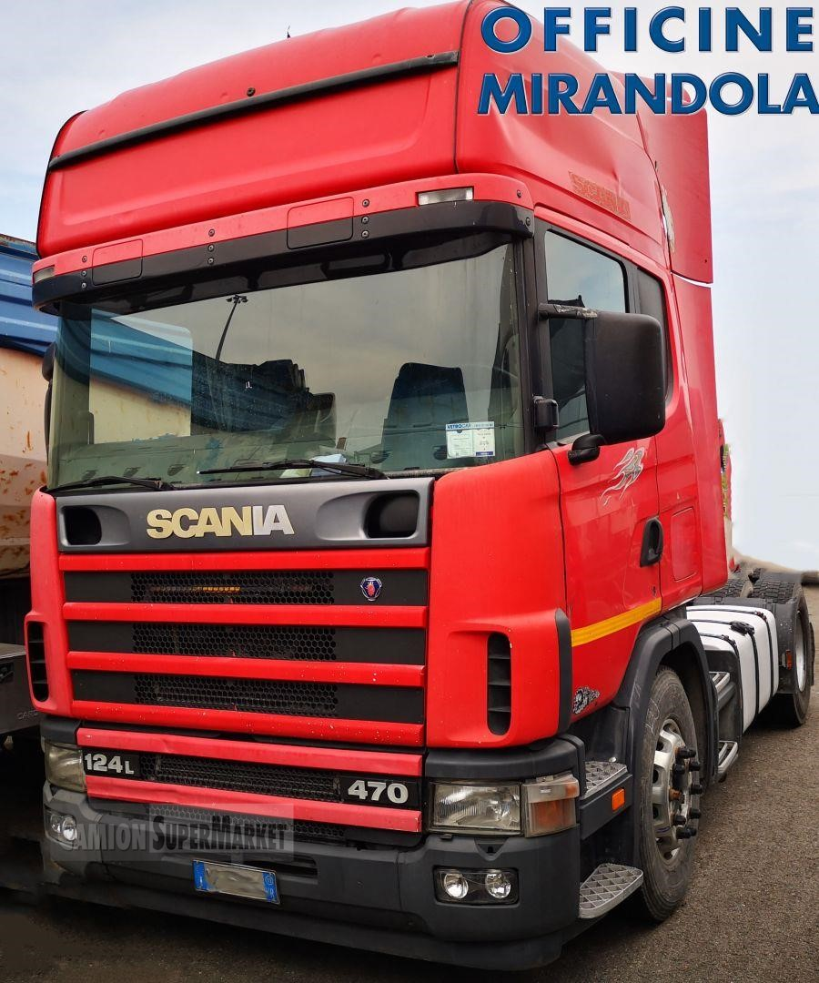 Scania P124L470 used