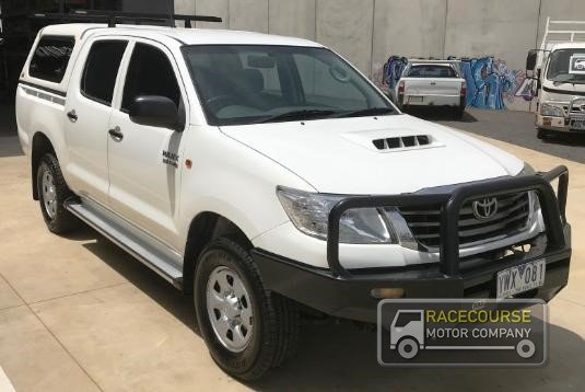 2012 Toyota Hilux Kun26r My10 Sr Racecourse Motor Company - Light Commercial for Sale