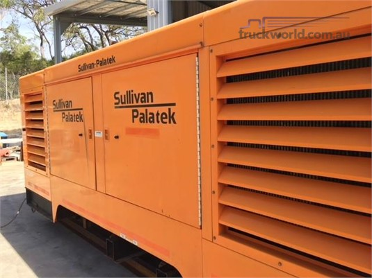 2012 Sullivan Palatek 1150 CFM Heavy Machinery for Sale