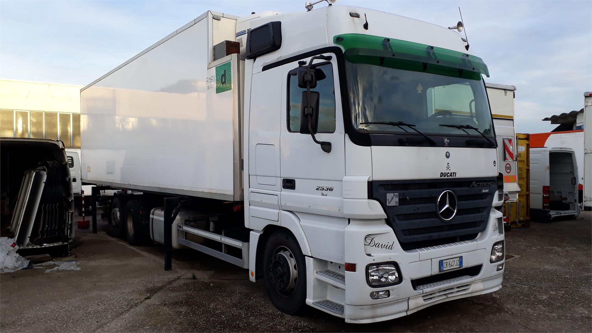 Mercedes-Benz ACTROS 2536 Second-hand