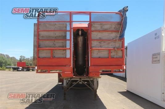 1984 Lusty 41FT Convertible Tipping Flat Top Semi Trailer Semi Trailer Sales - Trailers for Sale