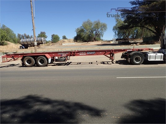 1988 Krueger Skeletal Trailer - Truckworld.com.au - Trailers for Sale