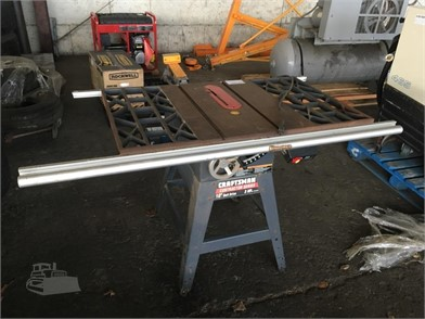Craftsman 10In  Table Saw Other Auction Results In Oregon