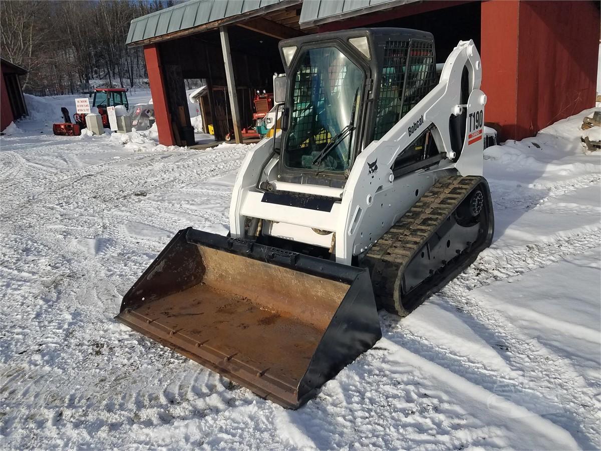 2012 BOBCAT T190 For Sale In Danville, Vermont