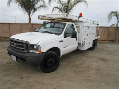 2003 FORD F450 XL FLATBED UTILITY TRUCK Other Auction Results - 1