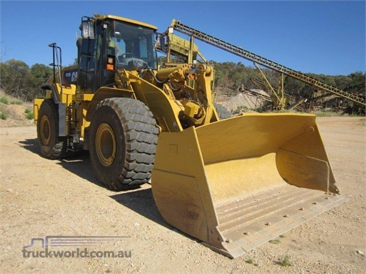 2008 Caterpillar 972H Heavy Machinery for Sale