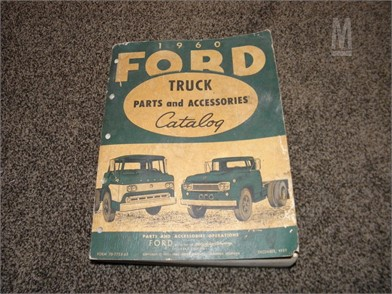 1960 FORD TRUCK PARTS & ACCESSORIES CATALOG Manuals Auction Results