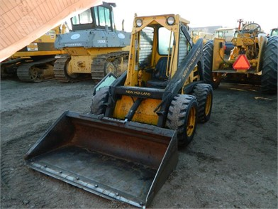 NEW HOLLAND L555 Auction Results - 33 Listings