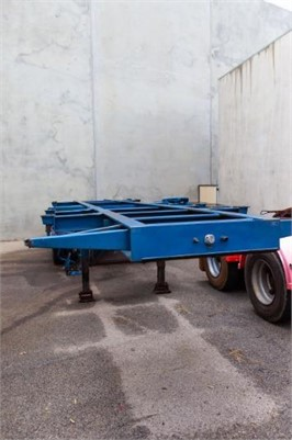 1998 Gte Container Skeletal - Trailers for Sale