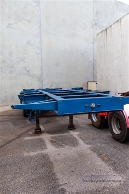 1998 Gte Container Skeletal Trailers for Sale