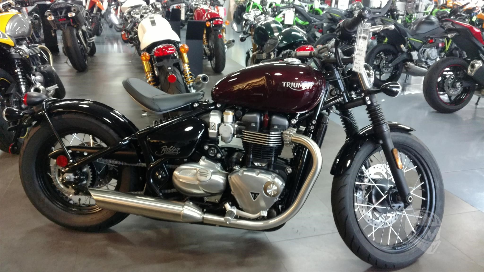 2018 Triumph Bonneville Bobber For Sale In Tucson Arizona