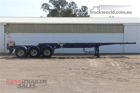 2006 Tht 40ft Tri Axle Retractable Skel - Trailers for Sale