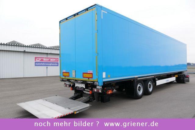 KRONE SD 18 / KOFFER / LBW 2000 KG  / LICHTDACH / SAF