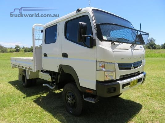 2012 Fuso Canter FG 4x4 Crew Cab Trucks for Sale