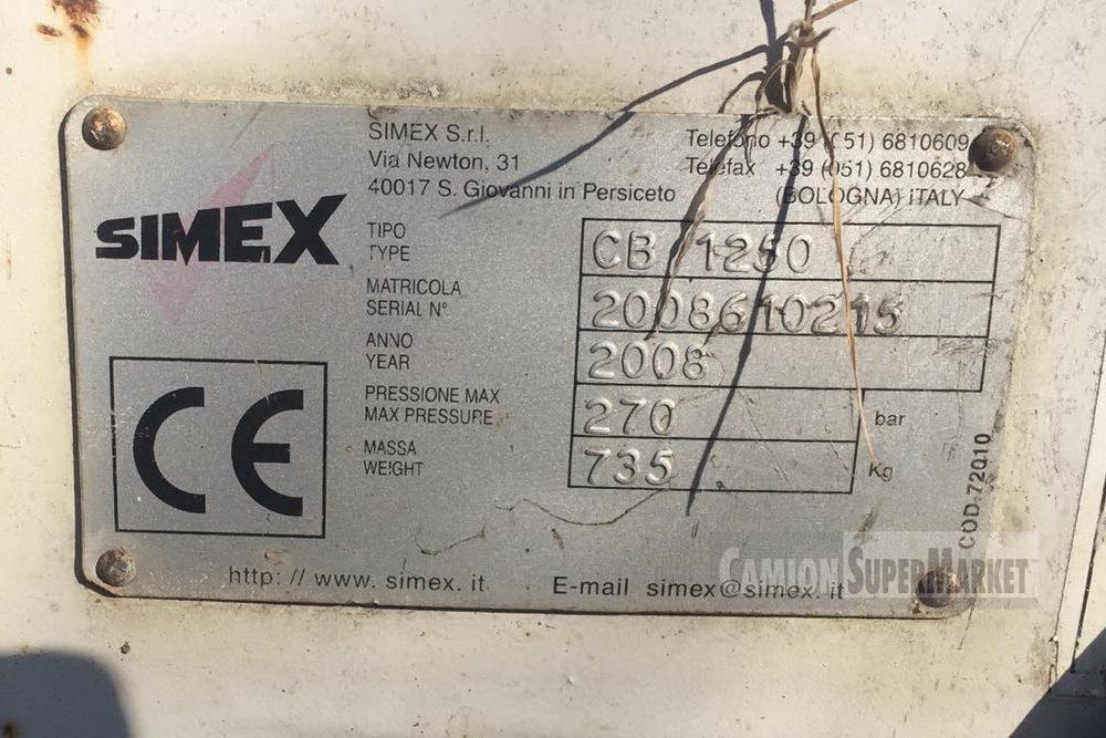 SIMEX CB1250 Uzywany 2008